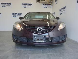 Used 2010 Mazda MAZDA6 LEATHER | SUNROOF | NEW CAR TRADE | ONLY 63KM! for sale in Brantford, ON
