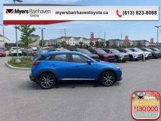 Used 2016 Mazda CX-3 GT  - Head-Up Display -  Sunroof - $122 B/W for sale in Ottawa, ON