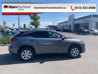 Used 2017 Lexus RX 350 4DR FWD AT  - $250 B/W for sale in Ottawa, ON