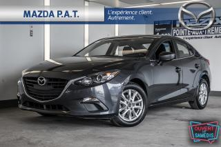 Used 2016 Mazda MAZDA3 AUTOMATIQUE,BLUETOOTH,CAMÉRA DE RECUL,A/C for sale in Montréal, QC