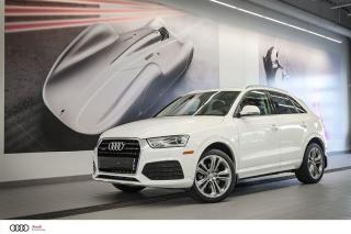 Used 2018 Audi Q3 Progressiv - 2.0 TFSI - QUATTRO AWD for sale in Sherbrooke, QC