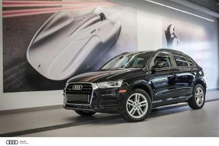 Used 2016 Audi Q3 KOMFORT - 2.0 TFSI - QUATTRO AWD for sale in Sherbrooke, QC
