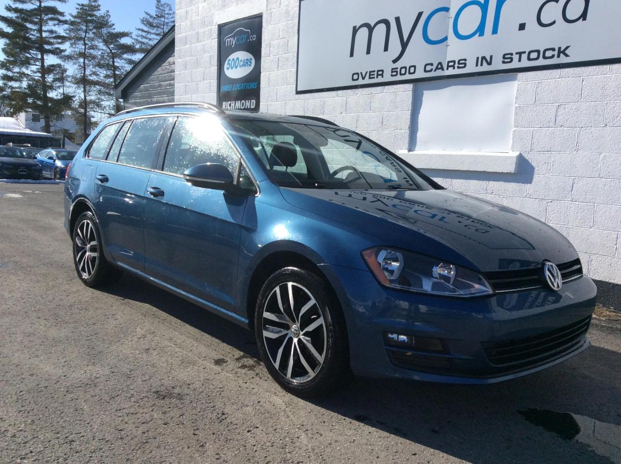 used 2016 volkswagen golf sportwagon 1.8 tsi comfortline leather,sunroof, heated seats, awesome buy for sale in richmond, ontario carpages.ca