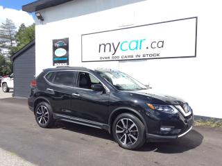 Used 2017 Nissan Rogue SL Platinum LEATHER, SUNROOF, NAV, BLACK BEAUTY!! for sale in Richmond, ON