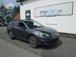 Used 2017 Subaru Outback 2.5i Limited LEATHER, NAV, POWER SUNROOF!!! for sale in Kingston, ON