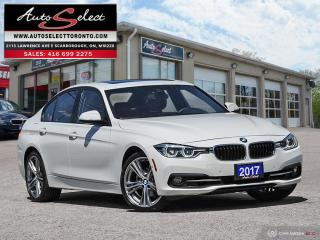 Used 2017 BMW 330i xDrive AWD ONLY 74K! **TECHNOLOGY PKG** SPORT PKG for sale in Scarborough, ON