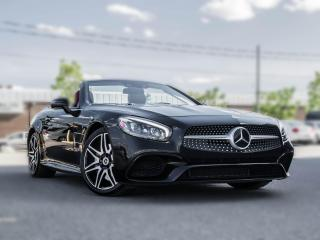 Used 2017 Mercedes-Benz SL-Class SL 550 | CONVERTIBLE | NAV | PANOROOF | BLACK ON RED for sale in Toronto, ON