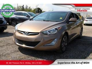 Used 2016 Hyundai Elantra 4dr Sdn Man GLS for sale in Whitby, ON