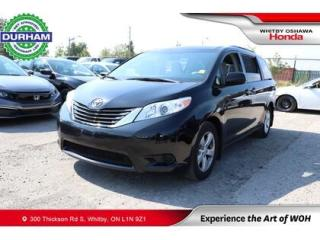Used 2017 Toyota Sienna 7 PASSENGER for sale in Whitby, ON