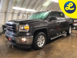 Used 2014 GMC Sierra 1500 SLE Crew Cab 4WD Z71 * 6 Passenger * Step Bars * Tonneau Cover * Sprayed in Liner * Rain Guard * Remote start * Tow package with trailer brake * Heate for sale in Cambridge, ON