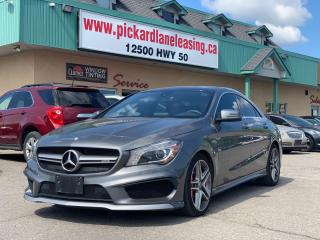 Used 2015 Mercedes-Benz CLA-Class AMG | ACCIDENT FREE | ONTARIO VEHICLE | LOW KM for sale in Bolton, ON