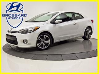 Used 2016 Kia Forte Koup COUPE  MAN  EX  CAMERA DE RECUL BANC CHAUFFANT for sale in Brossard, QC