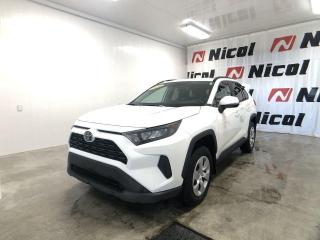 Used 2020 Toyota RAV4 LE Comme un neuf !! for sale in La Sarre, QC