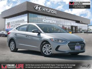 Used 2017 Hyundai Elantra LE  - Bluetooth -  Heated Seats - $100 B/W for sale in Nepean, ON