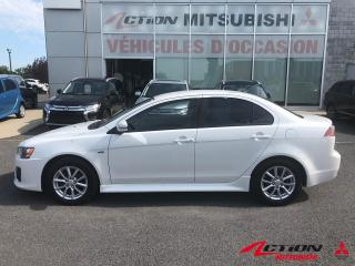 Used 2016 Mitsubishi Lancer AWD/4X4/AWD+2.4L+MAGS 16 POUCES+GARANTIE 10 ANS+++ for sale in St-Hubert, QC
