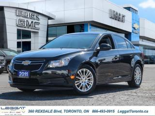 Used 2011 Chevrolet Cruze ECO W/1SA  - Low Mileage for sale in Etobicoke, ON