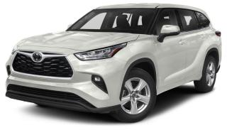 New 2020 Toyota Highlander LE for sale in Ancaster, ON