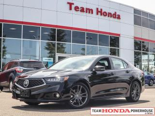 Used 2019 Acura TLX Tech A-Spec for sale in Milton, ON