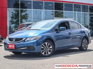 Used 2015 Honda Civic EX for sale in Milton, ON
