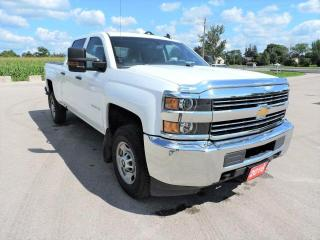 Used 2016 Chevrolet Silverado 2500 WT 4X4 6.0L Full power group Only 72000 km for sale in Gorrie, ON