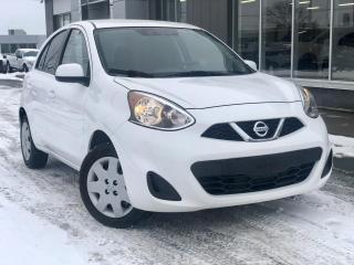 Used 2017 Nissan Micra SV + HAYON+AUTO+ BLUETOOTH for sale in St-Malachie, QC