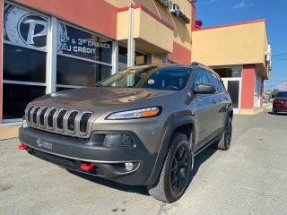Used 2018 Jeep Cherokee Trailhawk Leather Plus for sale in Val-D'or, QC