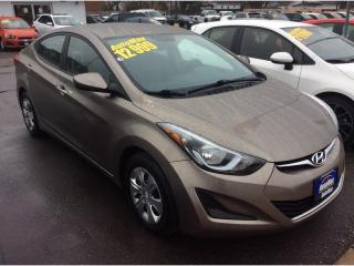 Used 2016 Hyundai Elantra L+ for sale in Sarnia, ON