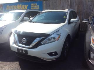 Used 2016 Nissan Murano SL for sale in Sarnia, ON