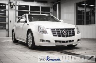 Used 2012 Cadillac CTS 3.0L Luxury AWD chez Rimouski Hyundai for sale in Rimouski, QC