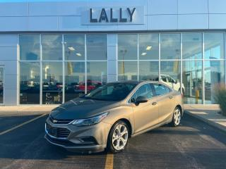 Used 2018 Chevrolet Cruze 4dr Sdn 1.4L Premier w-1SF for sale in Tilbury, ON