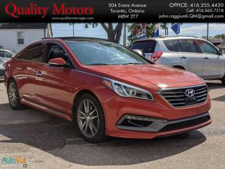 Used 2015 Hyundai Sonata 2.0T Ultimate w/Colour Pack for sale in Etobicoke, ON