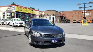 Used 2010 Nissan Maxima 4dr Sdn V6 CVT 3.5 SV for sale in Scarborough, ON