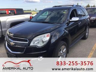 Used 2013 Chevrolet Equinox LTZ for sale in Winnipeg, MB