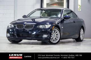 Used 2008 BMW 3 Series 328i CONVERTIBLE HARD TOP DÉCAPOTABLE - FREINS RÉCENT AUX 4 ROUES - INTÉRIEUR CUIR - SIÈGES AVANT CHAUFFANT - MAGS BMW 17'' for sale in Lachine, QC