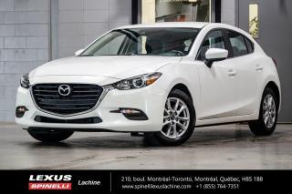 Used 2018 Mazda MAZDA3 Sport GS AUTO;  CAMERA A/C SIEGES CHAUFFANT MAGS 17'' CLIMATISATION - CAMERA DE RECUL - SIÈGES AVANT CHAUFFANT - VOLANT CHAUFFANT - MAGS 17'' for sale in Lachine, QC