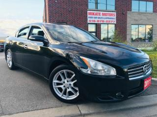 Used 2011 Nissan Maxima 3.5 SV for sale in Rexdale, ON