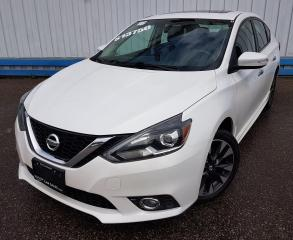 Used 2016 Nissan Sentra 1.8 SR *LEATHER-SUNROOF* for sale in Kitchener, ON