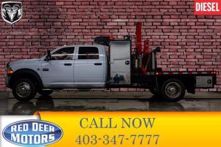 Used 2012 RAM 5500 4x4 Crew Cab ST Diesel Picker Deck for sale in Red Deer, AB
