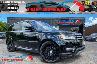 Used 2017 Land Rover Range Rover Sport Td6 HSE/DIESEL/DIGITAL DASH/DRIVER TECH PCKG/ NAV for sale in Richmond Hill, ON