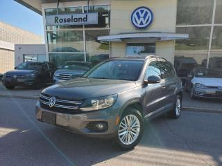 Used 2016 Volkswagen Tiguan Special Edition 4dr AWD 4MOTION for sale in Burlington, ON