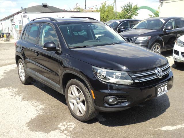 2016 Volkswagen Tiguan LEATHER, PANORAMIC SUN ROOF,CAMERA
