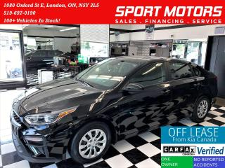 Used 2019 Kia Forte LX+Camera+Apple Carplay+LKA+New Tires+AccidentFree for sale in London, ON