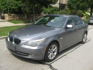 Used 2009 BMW 5 Series 535i xDrive, LEATER, ROOF, CERTIFIED, NEW TIRES for sale in Toronto, ON