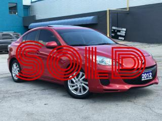 Used 2012 Mazda MAZDA3 GS|Sunroof|Bluetooth|Accident Free|One owner for sale in Burlington, ON