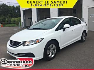 Used 2013 Honda Civic LX *GARANTIE 10 ANS / 200 000KM for sale in Donnacona, QC