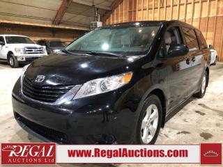 Used 2017 Toyota Sienna LE 4D Wagon 8 Pass 3.5L for sale in Calgary, AB