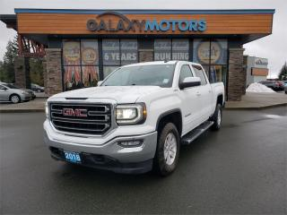Used 2018 GMC Sierra 1500 SLE - Crew Cab 4.3L V6 Short Bed - 4X4 for sale in Duncan, BC