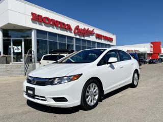 Used 2012 Honda Civic EX for sale in Winnipeg, MB