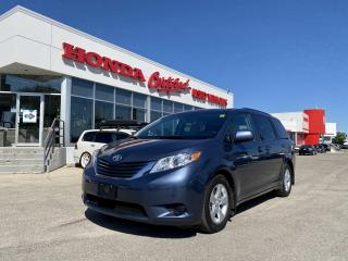 Used 2017 Toyota Sienna LE BLUETOOTH | LOCAL TRADE for sale in Winnipeg, MB