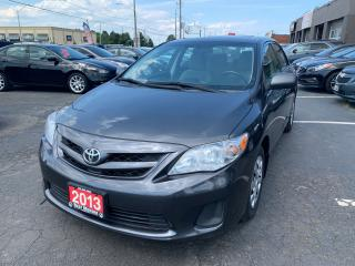 Used 2013 Toyota Corolla LE for sale in Hamilton, ON